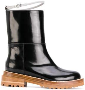 Marni harness strap calf boots