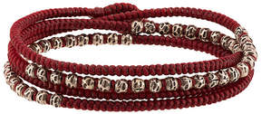 M. Cohen 4 layer knitted wrap bracelet