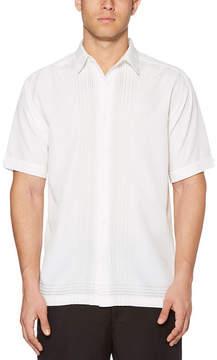 Cubavera Short Sleeve Panel Button-Front Shirt