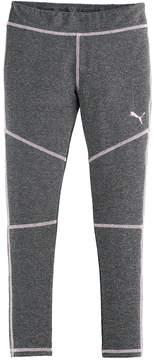 Puma Girls 4-6x Active Heathered Leggings