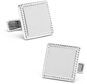Ravi Ratan Sterling Square Cufflinks