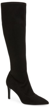 Nine West Women's Carrara Knee High Pointy Toe Boot