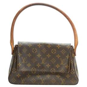 Louis Vuitton Looping handbag - BROWN - STYLE