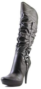 G by Guess Darrlin Women Round Toe Synthetic Black Knee High Boot.
