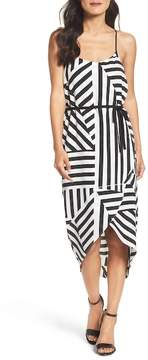 Felicity & Coco Stripe Wrap Dress (Nordstrom Exclusive)