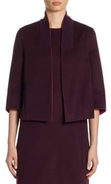 Akris Cashmere Reversible Jacket