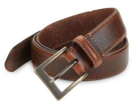 Black & Brown Black Brown Leather Belt