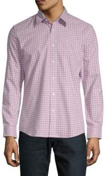 Hyden Yoo Slim Long-Sleeve Cotton Button-Down Shirt