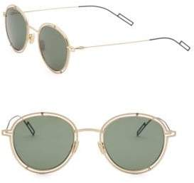Christian Dior Round Openwork Sunglasses