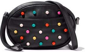 RED Valentino Studded Faux Leather Shoulder Bag