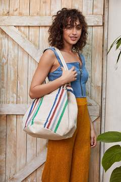 Urban Outfitters Knotted Woven Bucket Tote Bag