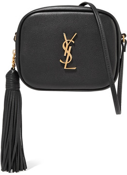 Saint Laurent Monogramme Blogger Leather Shoulder Bag - Black - BLACK - STYLE