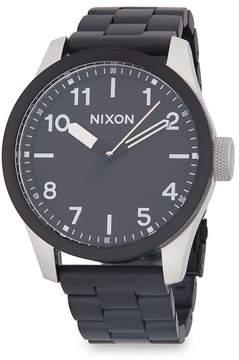 Nixon Men's Safari Stainless Steel Strap Watch