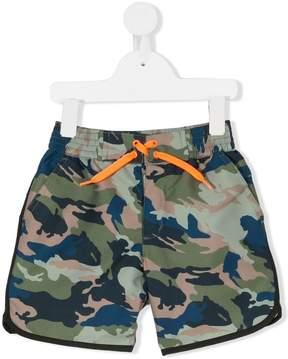 Zadig & Voltaire Kids camouflage print swim shorts