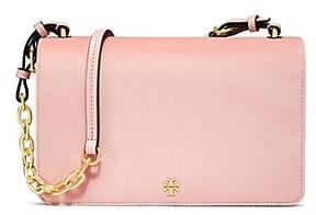 Tory Burch Sadie Velvet Shoulder Bag - BALLET PINK - STYLE