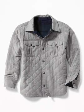 Old Navy Reversible Flannel Shirt Jacket for Boys