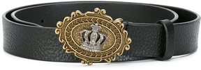 Dolce & Gabbana crown buckle belt