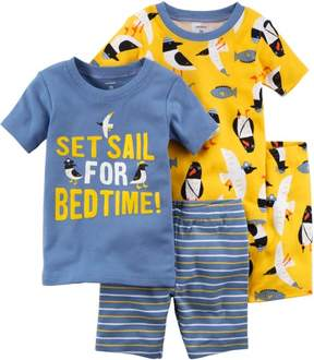 Carter's Baby Boys 4-pc. Set Sail Pajama Set