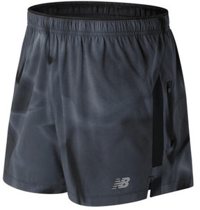 New Balance Men's MS71225 Impact 5 Printed Track Short