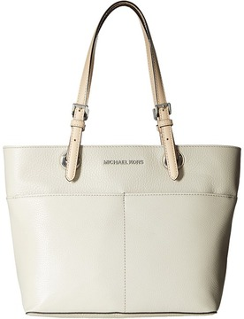 MICHAEL Michael Kors Bedford Top Zip Pocket Tote Tote Handbags - CEMENT - STYLE