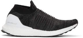 adidas Black UltraBOOST Laceless Sneakers