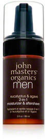 John Masters Organics Eucalyptus and Agave 2 In 1 Moisturizer and Aftershave