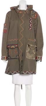 Calypso Embroidered Utility Jacket