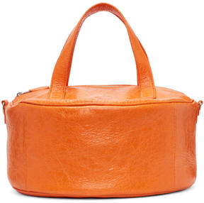 Balenciaga Orange Small Air Hobo Arena Bag