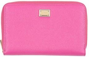 Dolce & Gabbana Wallets - FUCHSIA - STYLE