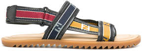 Fendi logo band sandals
