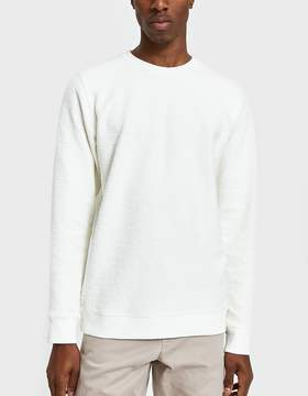 Norse Projects Vagn Heavy Towelling Sweatshirt in Kit White