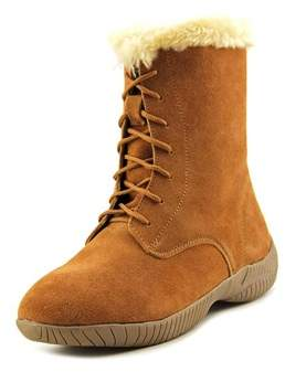 Style&Co. Style & Co Celie Women Round Toe Suede Brown Mid Calf Boot.