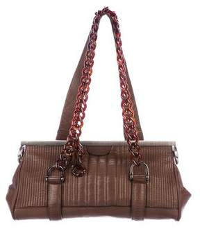Lanvin Leather Frame Bag