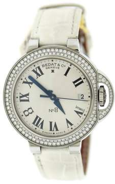 Bedat & Co 828.040.600 No. 8 Stainless Steel & Leather Diamond Automatic 36.5mm Womens Watch