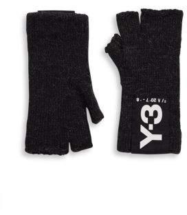 Y-3 Badge Fingerless Gloves