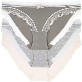 Dorina Gina 3-pc Microfiber Brief Panty
