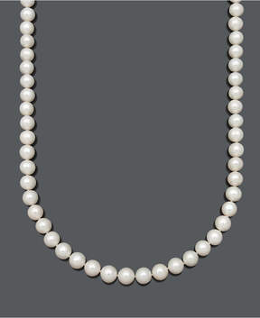 Belle de Mer Aa 22 Cultured Freshwater Pearl Strand Necklace (9-1/2-10-1/2mm) in 14k Gold