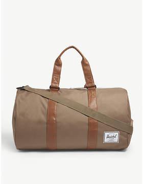 Herschel Brown Woven Novel Canvas Duffel Bag