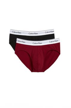 Calvin Klein Underwear 2 Pack Modern Cotton Stretch Hip Briefs