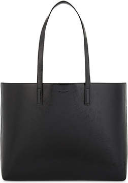Saint Laurent Patent leather shopper tote bag - BLACK - STYLE
