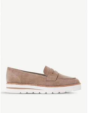 Dune Gabryel suede penny loafer