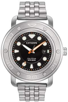 Citizen Eco-Drive AW1530-65E Black/Silver Stainless Steel Analog Mens Watch