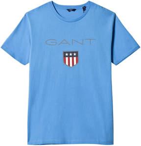Gant Blue Shield Logo Tee
