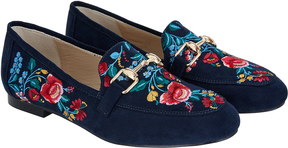 Monsoon Ellen Embroidered Loafers