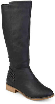 Journee Collection Women's Marcel Wide Calf Riding Boot