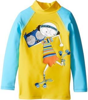 Little Marc Jacobs Swimsuit Long Sleeve Tee Shirt Boy's Swimwear