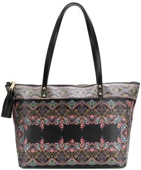 Etro printed shopping bag