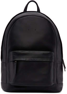 Pb 0110 Black Mini Leather Backpack