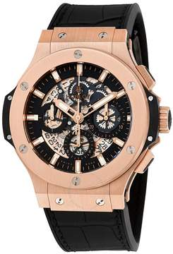Hublot Big Bang Aero Bang Gold 44mm Black Rubber Men's Watch