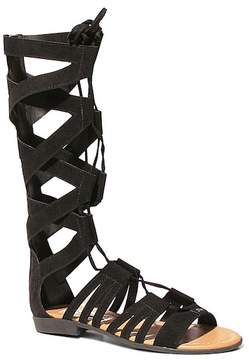 Two Lips Too Suzie Tall Flat Gladiator Sandal